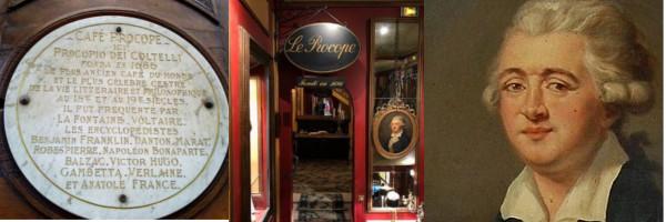 History of Gelato - Café Procope Paris