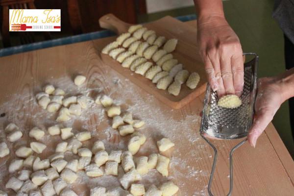 The art of making potato gnocchi