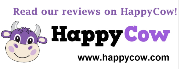 Read our reviews on HappyCow!