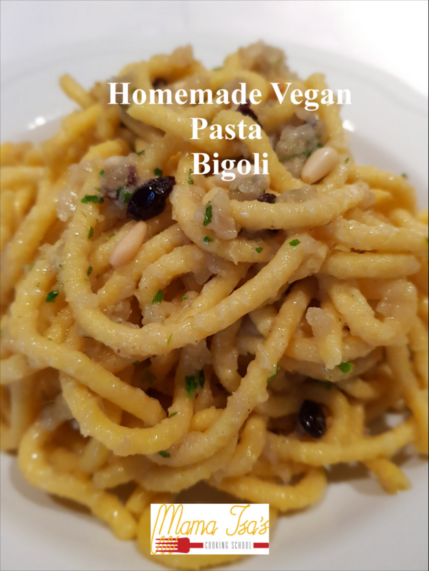 Vegan Cooking Classes in Italy Venice - Homemade Vegan Fresh pasta Bigoli