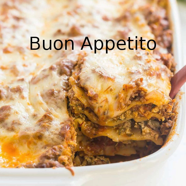 Lasagna cooking class