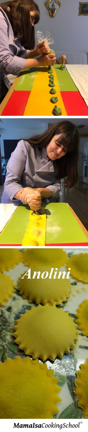Pasta Making: Anolini