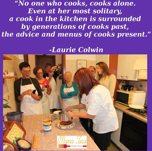 Chef Mama Isa: the motto