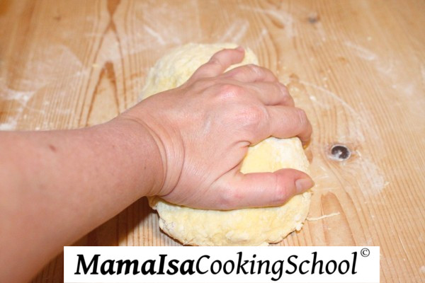 Kneading Pasta by Hand