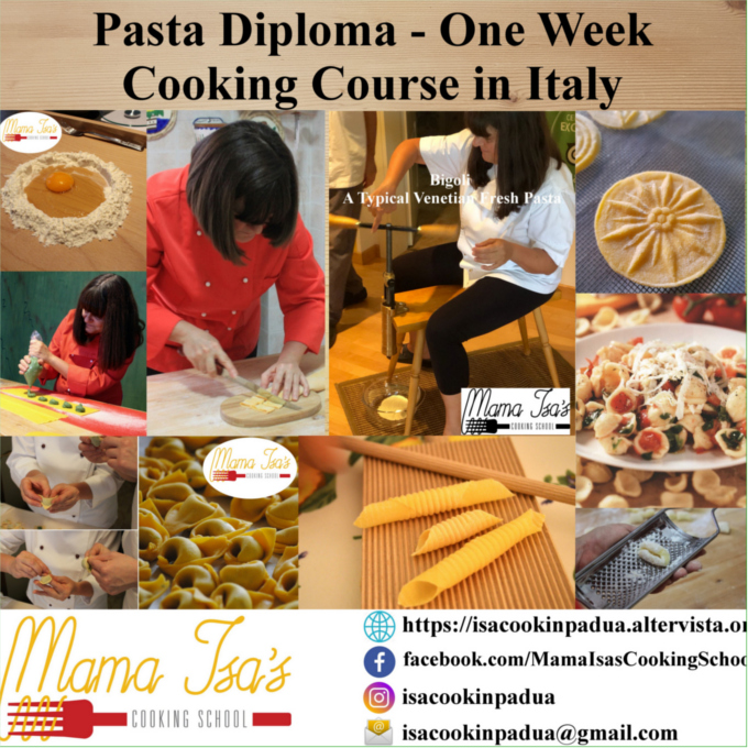 Cooking Classes in Italy: Pasta Diploma One week