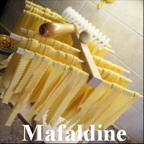 Homemade Pasta Mafaldine