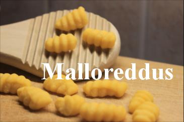 Homemade Malloreddus Pasta