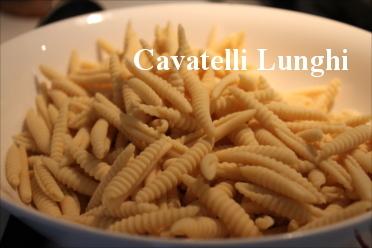 Cavatelli Lunghi - Pasta Class in Italy