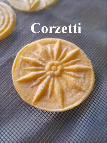 Corzetti Pasta Class