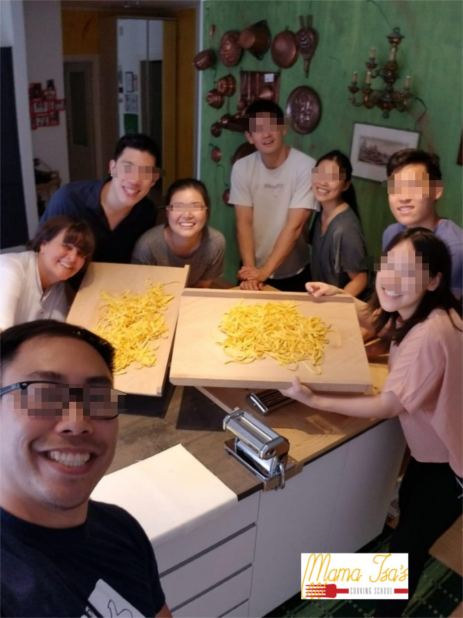 Pasta Class in Italy