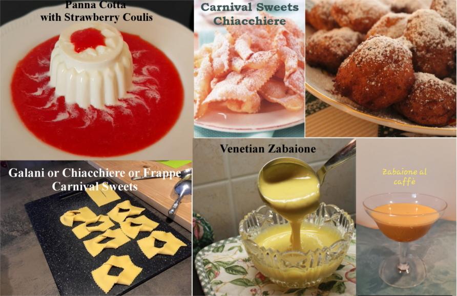 Dessert Pastry Class Italy