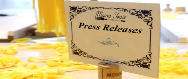 Press Releases Mama Isa's Cooking School