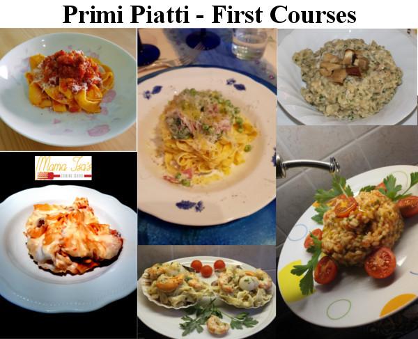 Primi Piatti - First Courses