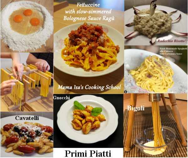 Primi Piatti - First Courses