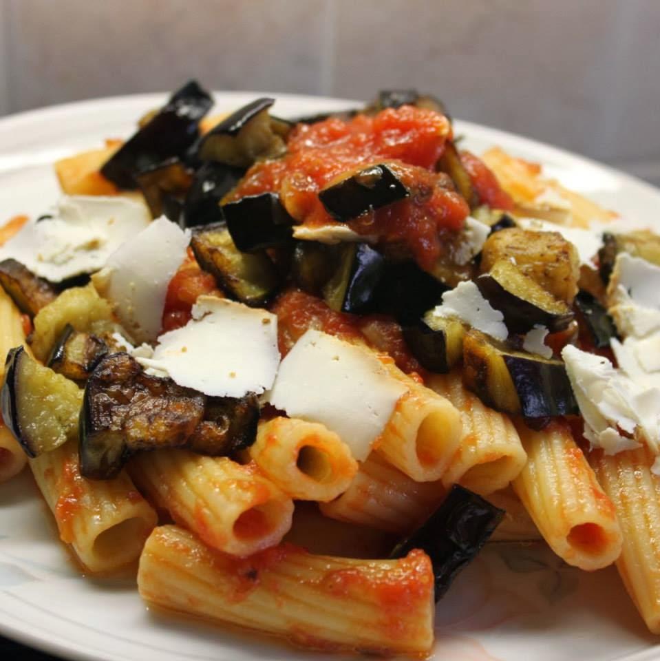 Pasta alla Norma - Eggplant Sauce