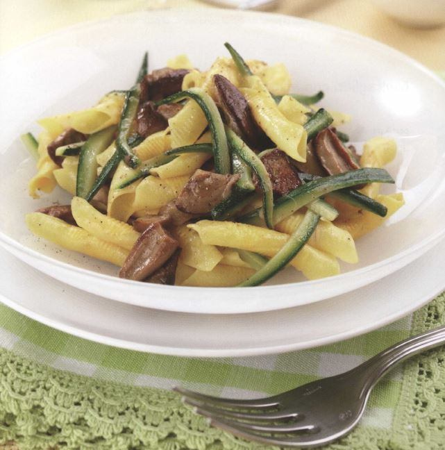 Porcini and Zucchini Sauce