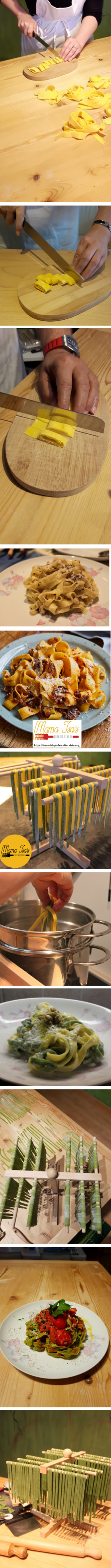Tagliatelle Pasta Classes By Hand in Italy