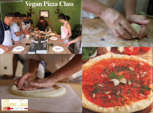 Vegan Pizza Classes in Italy Venice