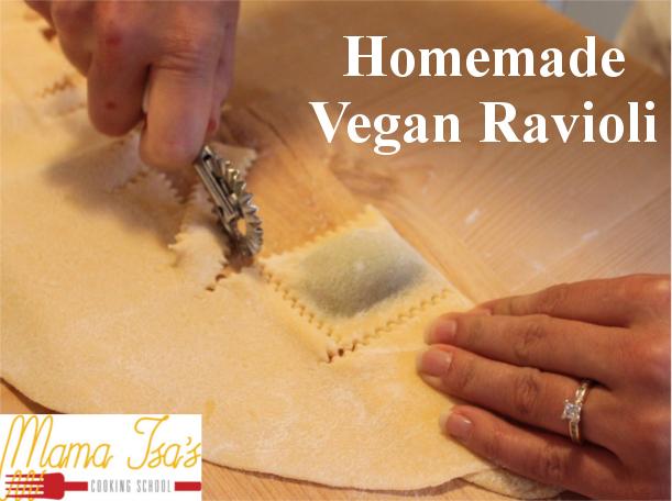 Vegan Cooking Classes in Italy Venice - Vegan Ravioli