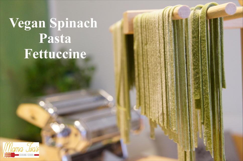Vegan Cooking Classes in Italy Venice - Vegan Spinach Fresh pasta
